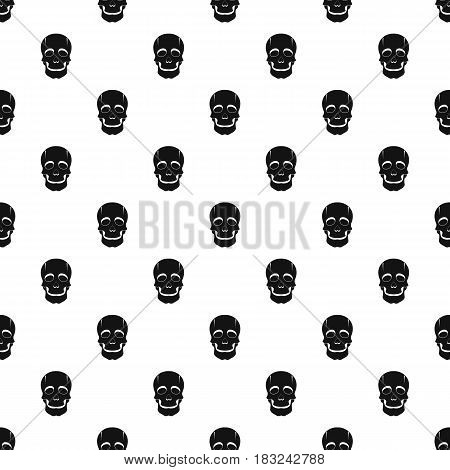 Singer mask pattern seamless in simple style vector illustration
