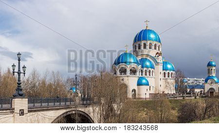Church Of The Holy Trinity In Orekhovo-borisov
