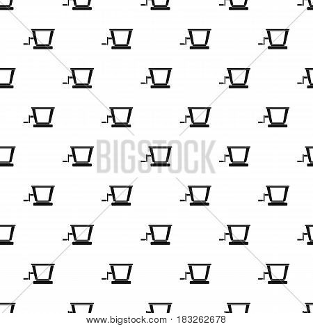 Old grape juicer pattern seamless in simple style vector illustration