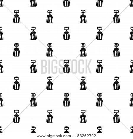 Modern corkscrew pattern seamless in simple style vector illustration