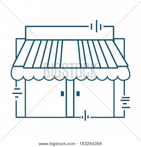 delivery post office services, vector illustration design