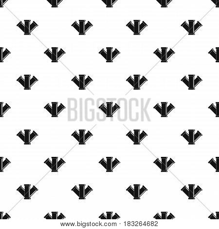 Sewerage pattern seamless in simple style vector illustration