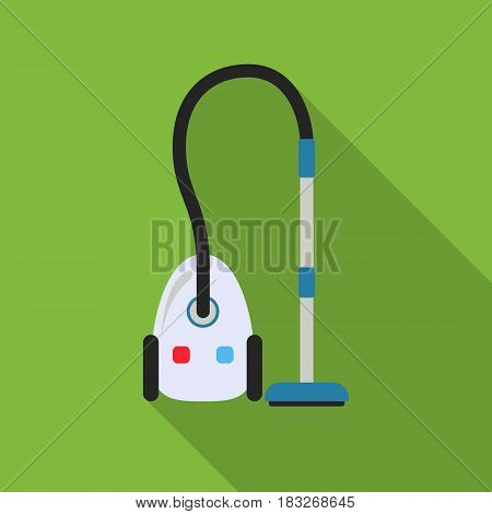 Vacuum flat icon. Illustration for web and mobile.