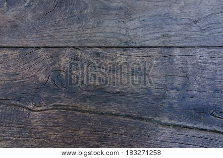 Old brown wood table texture as wooden background.