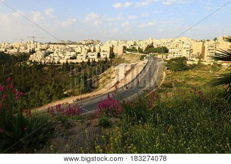 Walk through the ancient, white city of Jerusalem, the capital of Israel