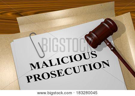 Malicious Prosecution Concept