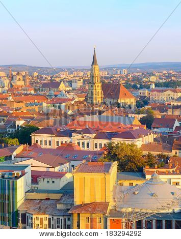 Cluj Napoka Old Town, Romania