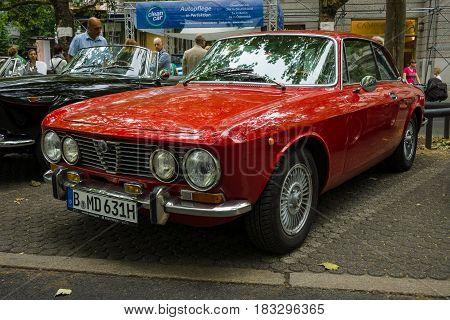BERLIN - JUNE 14 2015: Luxury car Alfa Romeo 2000 Sprint (Tipo 102). The Classic Days on Kurfuerstendamm.