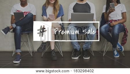 Order Offer Premium Sale Shopping