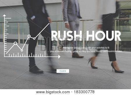 Business City Life Rush Busy Lifestyle Chart