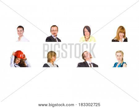 Office Faces People Diversity