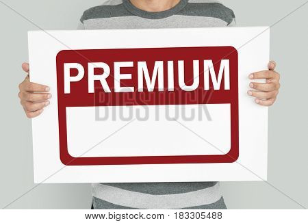 Original Premium Guaranteed Quality Banner Graphic