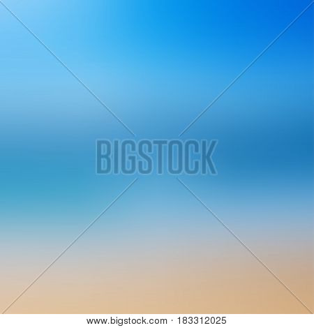 Blur abstract background. Colorful blurred background. Can be used for summer beach concept background.
