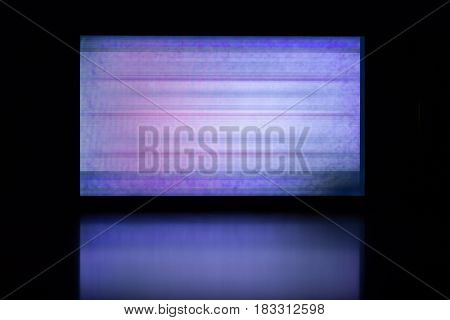 glitch background of broken LCD display