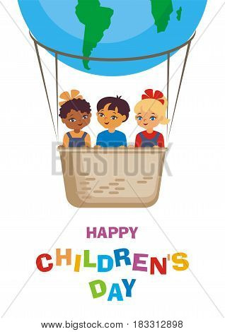 Happy Childrens Day Card.eps