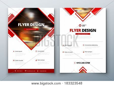 Flyer design. Corporate business report cover, brochure or flyer design. Leaflet presentation. Teal Flyer with abstract circle, round shapes background. Modern poster magazine, layout, template. A4