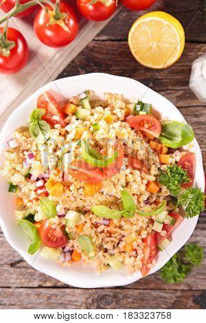 tabouleh,couscous salad
