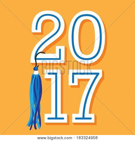 Class Of 2017 Congratulations Graduate Typography