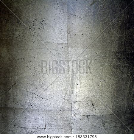 silver metal plate surface textured grunge background