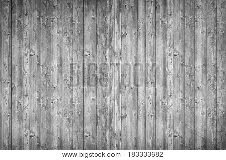 Old rustic gray wood background. Vintage floor panels background.
