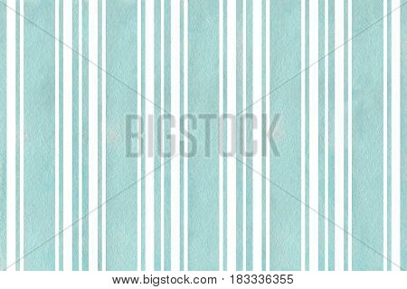 Watercolor Striped Background.
