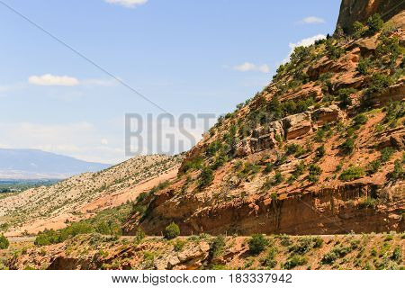 Driving Through The Colorado National Monument