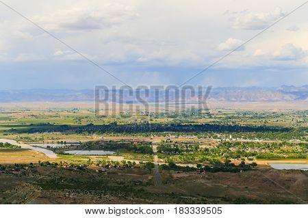 View Over Fruita