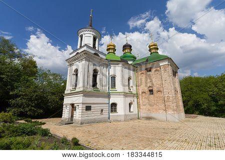 Church of the Savior on Berestov Kiev-Pechersk Lavra. Kiev Ukraine