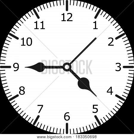 Clock Vector illustration. Eps 10. vector background