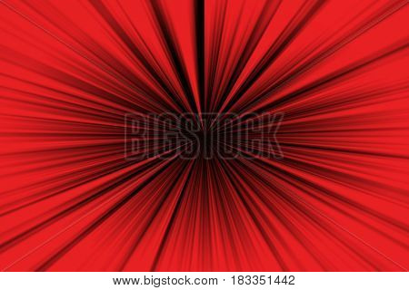 Abstract background simulating high speed in red black.