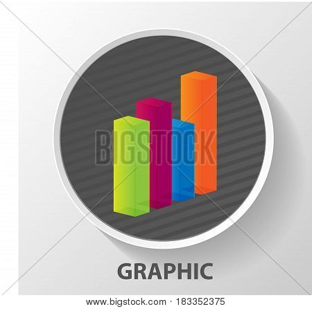 Modern Business Steps To Grow Chart And Graph Options Banner. Ve