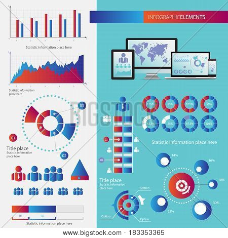 Business Infographic Concept - Vector Set Of Infogra
