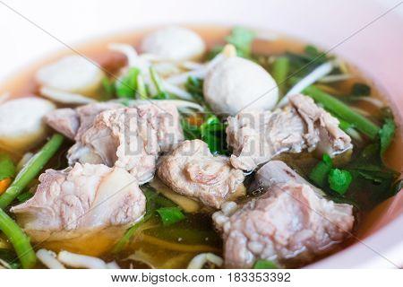 Braised Pork Clear Soup
