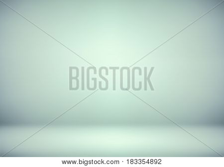 abstract soft blur blue and green studio background