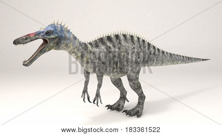 3D Computer rendering illustration of Suchomimus dinosaur
