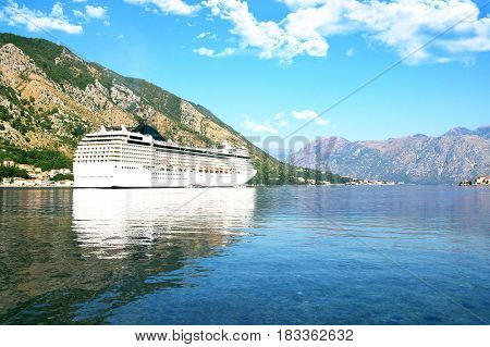 Bay of Kotor, Montenegro. Beautiful nature in Montenegro
