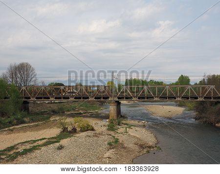 Bridge Over River Malone In Brandizzo