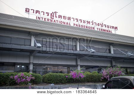 International Terminal Of Chiang Mai International Airport