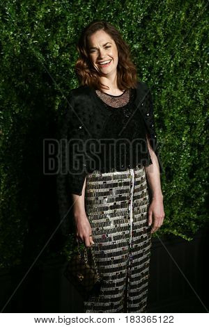 NEW YORK-APR 24: Ruth Wilson attends the 12th Annual Tribeca Film Festival Artists Dinner hosted by Chanel at Balthazar Restaurant on April 24, 2017 in New York City.