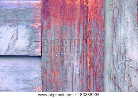 Detail Of An Old Green Wooden Door -2