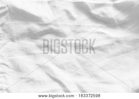 Abstract and gray white linen fabric texture background