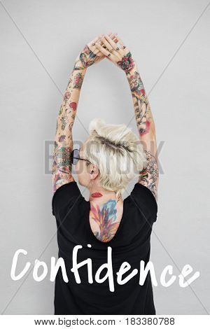Confidence Positivity Freedom Be Creative
