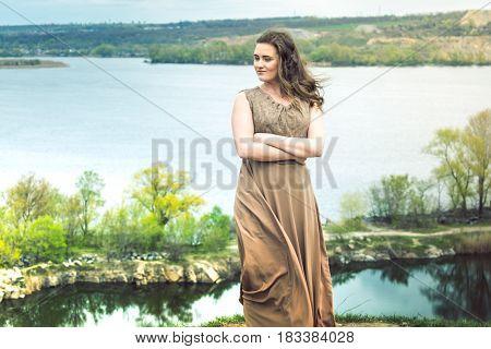 The Girl On The High Bank