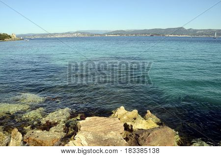 Embiez Island Landscape, France