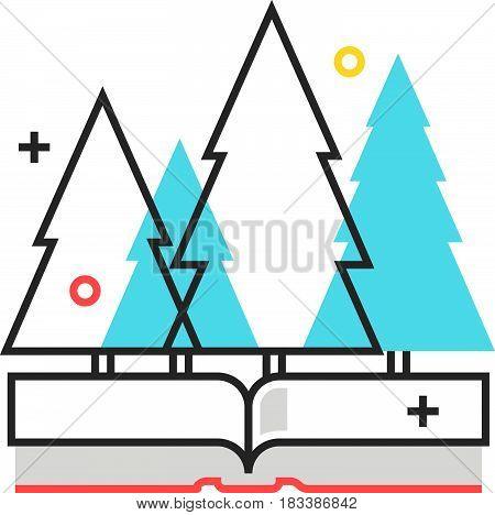 Color Box Icon, Environmental Law Illustration, Icon