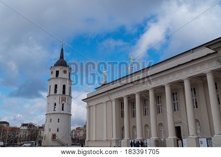The Cathedral of St. Stanislav and St. Vladislav. Vilnius, Lithuania EU