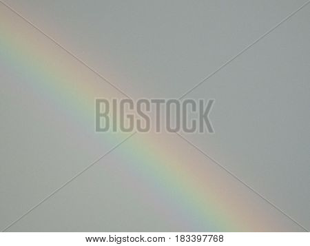 After the rain, I captured this beautiful rainbow in the sky