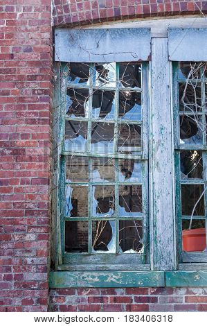 Broken Windows At Sandy Hook