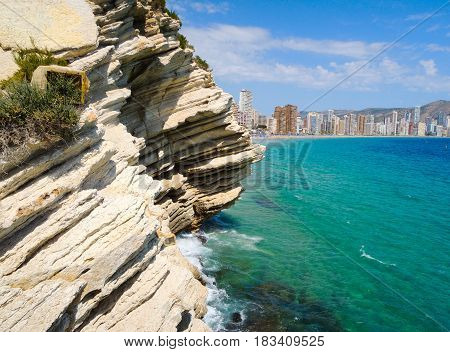 Great view from Benidorm, Valencia, Spain 1