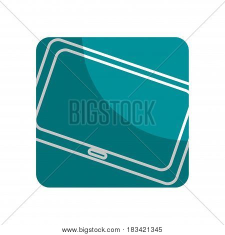 logotype technology television to business information, vector illustration
